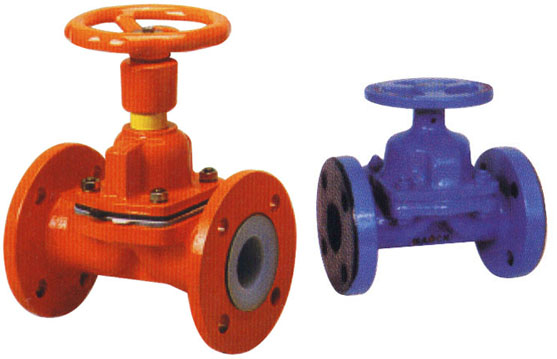 PTFE Lined Diaphragm Valve, Rubber Lined Diaphragm Valve
