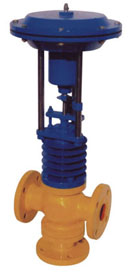 Spring & Diaphragm actuated operated Pneumatic Control Valve